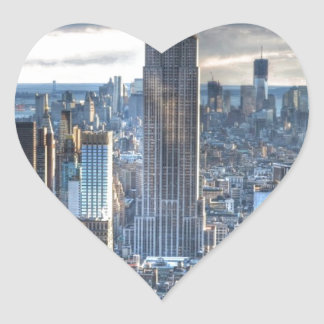 NYC HEART STICKER