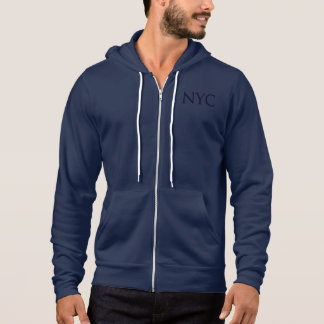 NYC Hoodie - Navy Text