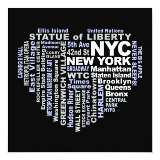 NYC invitation - customize!