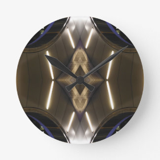 NYC Landmarks Futuristic Unusual Urban Elegance Clock