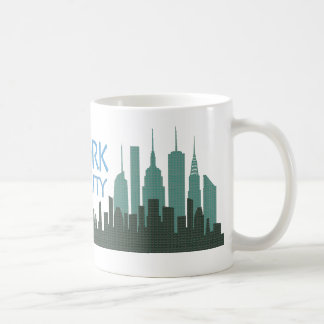 NYC Liberty Skyline mug