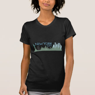 NYC Liberty Skyline T-Shirt