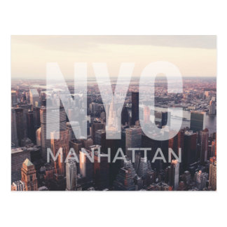 NYC Manhattan Postcard