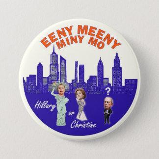 NYC Mayor Bloomberg's Dilemma 7.5 Cm Round Badge