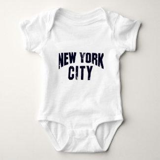 nyc memorabilia baby bodysuit