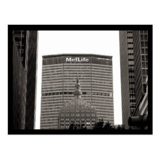 NYC MetLife Postcard
