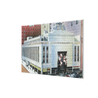 NYC, New York42nd Street View of Terminals Canvas Prints