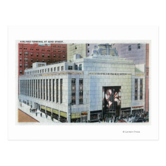 NYC, New York42nd Street View of Terminals Postcard