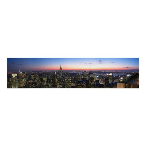 NYC New York City on Canvas Poster
