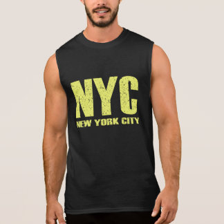 NYC - New York City Sleeveless Shirt
