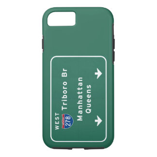 NYC New York City Triboro Br Manhattan Interstate iPhone 7 Case