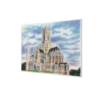 NYC, New YorkCathedral of St. John the Divine Canvas Print
