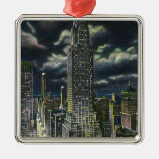 NYC, New YorkChrysler Building at Night # 1 Christmas Ornament