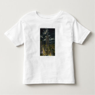 NYC, New YorkChrysler Building at Night # 2 Toddler T-Shirt