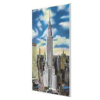 NYC, New YorkExterior View of the Chrysler Canvas Print