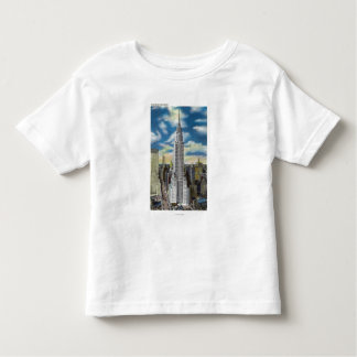 NYC, New YorkExterior View of the Chrysler Toddler T-Shirt