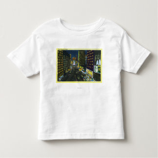 NYC, New YorkView of Times Square at Night # 1 Toddler T-Shirt