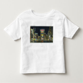 NYC, New YorkView of Times Square at Night # 2 Toddler T-Shirt