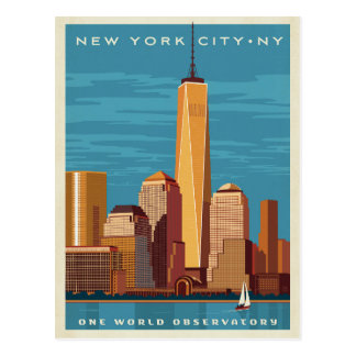 NYC - One World Observatory Postcard