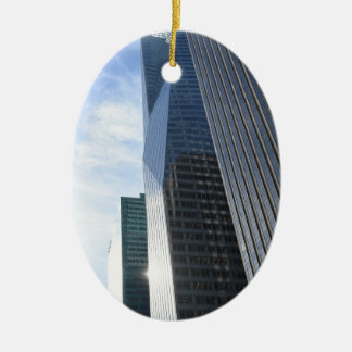 NYC Photography Sixth Avenue Skyscrapers Manhattan Christmas Ornament
