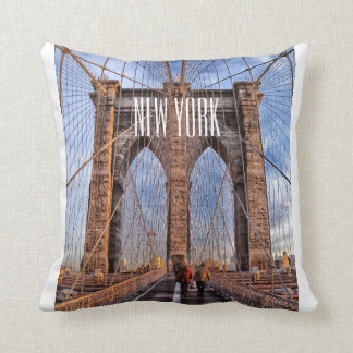 NYC Pillow - Brooklyn Bridge