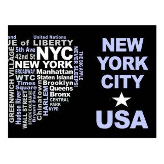 NYC postcard - customizable