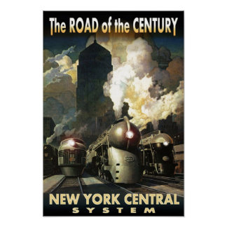 NYC Road Of The Century Poster