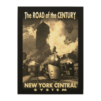 NYC Road Of The Century Wood Wall Decor