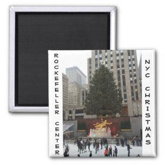 NYC Rockefeller Center Ice Skating Rink Magnet