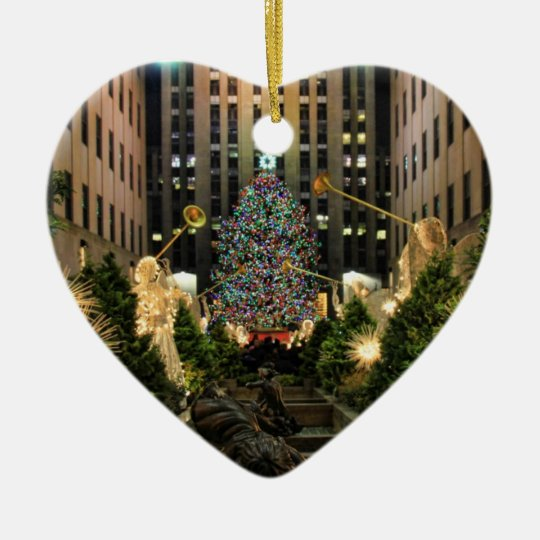 NYC Rockefeller Centre Christmas Tree, Angels H Christmas