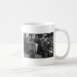 NYC Sidewalk Sales 1936 Mugs