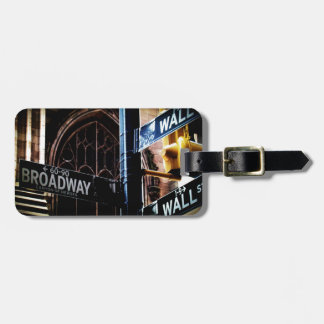 NYC signs Luggage Tags