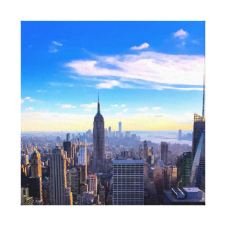 NYC Sky Canvas Print