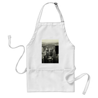 NYC Skyline and Central Park Adult Apron