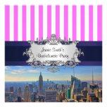 NYC Skyline B2 Bachelorette Party Invitation