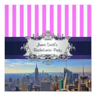 NYC Skyline B2 Bachelorette Party Invitation