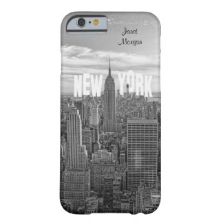 NYC Skyline Empire State Building, Wld Trd BW 2C2 Barely There iPhone 6 Case