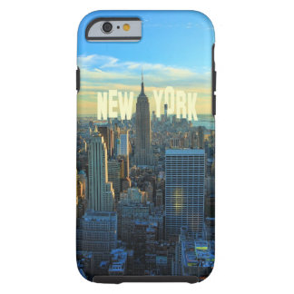 NYC Skyline Empire State Building, World Trade 2C Tough iPhone 6 Case