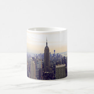 NYC skyline Empire State Building, WTC 4 Coffee Mug