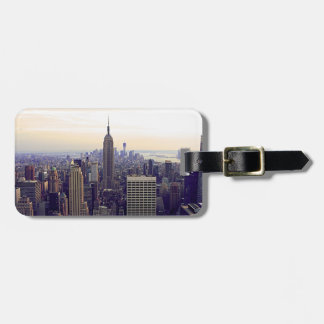 NYC skyline Empire State Building, WTC 4 Luggage Tag