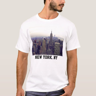 NYC skyline Empire State Building, WTC 4 T-Shirt