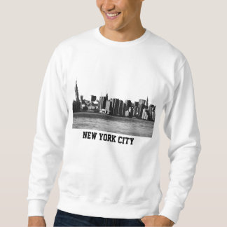 NYC Skyline ESB, East River View 001 Sweatshirt