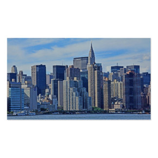 NYC Skyline From East River A1 Business Card Templates