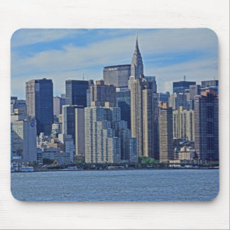 NYC Skyline From East River A1 Mousepad