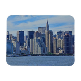 NYC Skyline From East River A1 Magnet