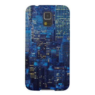 NYC Skyline, high angle view at dusk Galaxy S5 Case