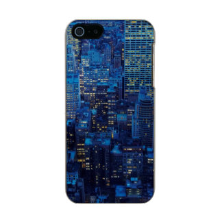 NYC Skyline, high angle view at dusk Incipio Feather® Shine iPhone 5 Case