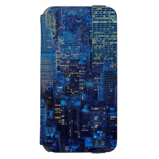 NYC Skyline, high angle view at dusk Incipio Watson™ iPhone 6 Wallet Case