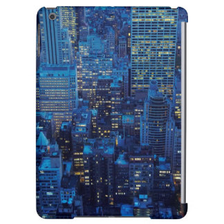 NYC Skyline, high angle view at dusk iPad Air Case