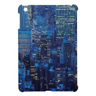 NYC Skyline, high angle view at dusk iPad Mini Cover
